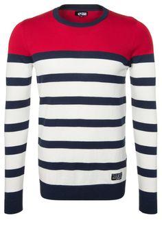 YOUR TURN Jersey de punto - blanco - Zalando.es Mens Fashion Sweaters, Men Sweater, Your Turn, Work Inspiration, Vogue, Knitwear, Shirt Designs, Jumpers, Sweatshirts
