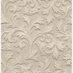 Acanthus Lincrusta RD1960 - Original Features Online Store textured paintable wallpaper