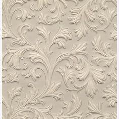 Acanthus Lincrusta Rd1960 Original Features Online Textured Paintable Wallpaper Anaglypta Ceiling