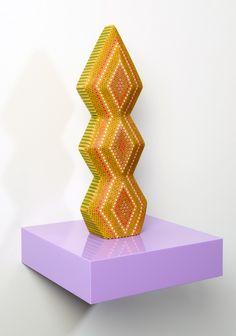 Необычные скульптуры из карандашей от Lionel Bawden. (13)