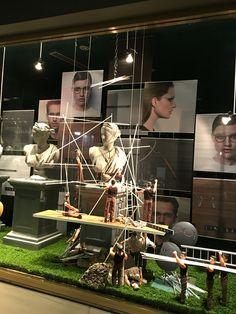 "MORTIMER HIRST OPTOMETRIST, Auckland-City, New Zealand, ""Work in Progress"", for Lindberg Eyewear, created by Ton van der Veer"
