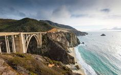 The Pacific Coast Highway, from LA to San Francisco, takes you through some of   California's best scenery