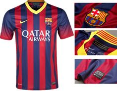 F.C Barcelona T-Shirt Half Sleeves