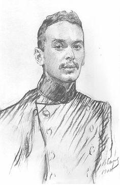 В. А. Серов, 1901 г.