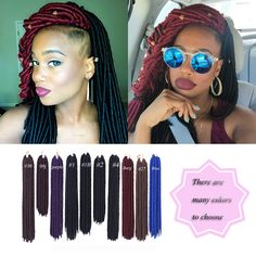 14/18inch Soft Dread lock Hair 613 Crochet Braids Dreadlock Synthetic Extensions 613 Blonde Hair Cheap Afro Kinky Faux Locs-in Bulk Hair from Health & Beauty on Aliexpress.com | Alibaba Group