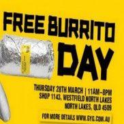 FREE Burrito Day @ Guzman Y Gomez North Lake QLD! - Free Samples Australia