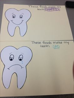 Oral hygiene/ healthy eating lesson