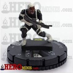G.W. Bridge is piece number 041 in the Marvel Comics Deadpool HeroClix set. This Rare piece costs 68 points has a trait, a range of 6 and has 5 clicks of life. G.W. Bridge has the S.H.I.E.L.D., Six Pack, Soldier and Weapon X keywords and the S.H.I.E.L.D. team ability.