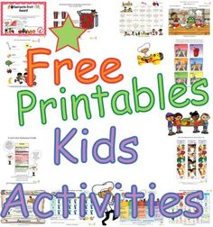 Worksheets And Activity Resources For Children Around Nutrition Fitness
