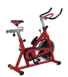 Name: Spinning bikes, spinning bike exercise, spinning bike reviews, spinning bike for sale   - Model number: SEB-901001    - Indoor cycling bike with 15kgs flywheel;   - Fully adjustable handlebars and seat for comfortable exercise;    - Heavy-duty crank and smooth chain drive mechanism;   - Adjustable friction bracking system to control different resistance and emergency lock;    - Assembly size: 130*48.5*118cm