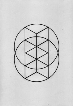 A great combination of hexagonal angles within two circles.