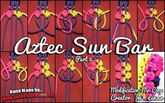 Modified Aztec Sun Bar und Tutorial | Swiss Paracord
