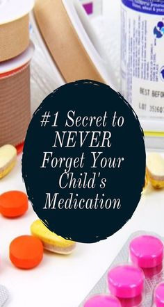 Momma Addict discusses the importance of knowing exactly which medications your child is taking and provides a tip for making sure you do not forget