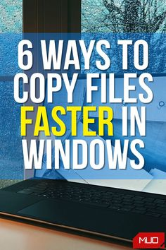You can speed up copying files in Windows using several ways. Let's take a look at how to copy files faster in Windows. #Windows #Windows10 #Microsoft #HowTo #Copy #FileManagement #Tips Batch File, Using Windows 10, Windows Software, Best Windows, Windows Operating Systems, End Of Life, Getting To Know You, Microsoft, Tutorials