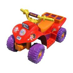 I'm learning all about Power Wheels Dora the Explorer Lil Quad at @Influenster!