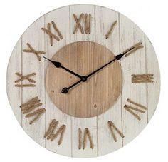 Wanduhr Vintage, Wanduhr Vintage Holz, Wanduhr Rustikal, Wanduhr  Landhausstil