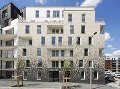 Pierre Alain Trévelo & Antoine Viger-Kohler Architectes - 26 Apartments, Choisy-le-Roi, France