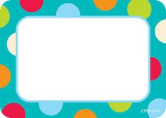 Resultado de imagen para name tags for kindergarten