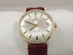 1972 OMEGA SEAMASTER AUTOMATIC MEN'S WATCH WITH DATE