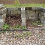 Cinderblocks for compost bin...