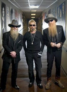 ZZ Top, that little ol' band from Texas, celebrating 50 years as a rock group. They became legends in their own time during their career and put Texas on the music map around the world, and they're still at it. Zz Top, Pop Rock, Rock And Roll, Ozzy Osbourne, Recital, Good Music, My Music, Metallica, Rock Y Metal