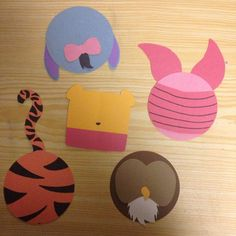 door tags of all the winnie the pooh charactors - Google Search