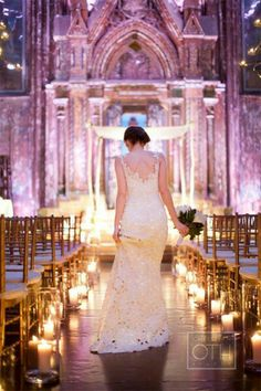 For endless inspiration and decor ideas, indulge in a gallery of our favorite wedding aisles. Wedding Aisles, Wedding Ceremony Ideas, Church Wedding, Wedding Bells, Wedding Photos, Elegant Winter Wedding, Dream Wedding, Wedding Day, Diy Wedding