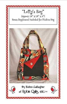 Letty's Bag Pattern - Click Image to Close