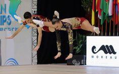 Ginástica Aeróbica: Sara Silva foi uma agradável surpresa ao atingir a final