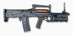 """OTs 14 - 4A  """"Groza"""". Russian Bullpup with grenade launcher."""