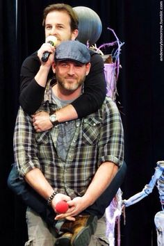 Richard Speight Jr and Ty Olsson :D