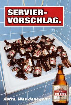 Was dagegen? Beer Commercials, Beer Poster, All Beer, Great Ads, German Beer, Beer Signs, Creative Advertising, Beer Lovers, Dessert
