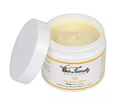 BeeFriendly Face and Eye Cream 100% All Natural 85% Organic Moisturizer