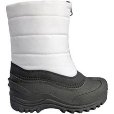 Cold Front Girls' Puffer Boot, Infant Girl's, Size: 5, White