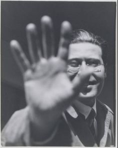 Lucia Moholy (British, 1894-1989). László Moholy-Nagy, 1925-26. Gelatin silver print, possibly printed after 1928. 10 1/16 x 7 7/8 in. (25.6 x 20 cm).