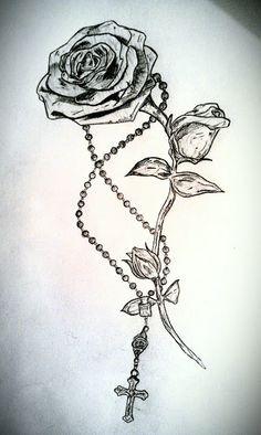 GRIFFE TATTOO: Só rosas para tatuagens feminina