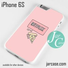 Netflix and Pizza - Z Phone case for iPhone 6/6S/6 Plus/6S plus