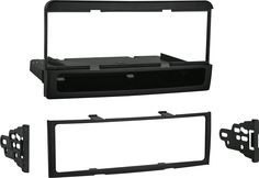 Metra - Dash Kit for Select Ford and Mercury Vehicles - Black, 99-5837