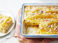 Get Apple-Apricot Breakfast Lasagna Recipe from Food Network
