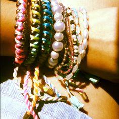neon + pearls