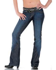 Wrangler Women's Premium Patch Ultra Low Rise - Sadie