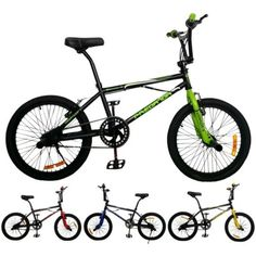 2Fast4You 20 Zoll-Freestyle-Fahrrad