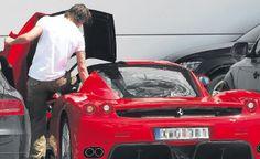 El Ferrari Enzo de Zlatan Ibrahimovic