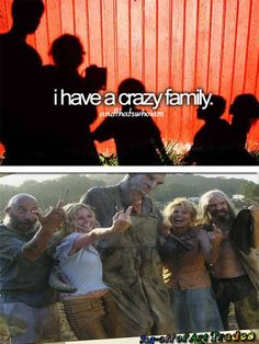 andthatswhoIam And That's who I am Crazy family Fireflys House of 1000 corpses Rob Zombie Horror Parody funny Devil's Rejects