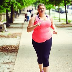 This Plus-Size Model Has Some Serious Wise Words For Anyone Who Wants to Run: In case you missed it, there's no such thing as a runner's body —if you want to be a runner, it's as simple as lacing up your shoes, setting a goal, and working your way toward it.