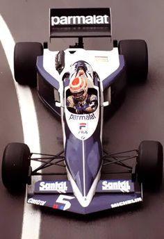 1983 Brabham BT-52 Turbo F1. Designed by iconic Gordon Murray. (via Daniel Simon) More cars here.