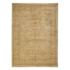 """Oushak Collection Oriental Rug, 5'3"""" x 7'"""