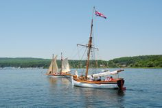 Badger & Lynx sailing together The Ship's Company of Penetanguishene-Ontario-- News Story