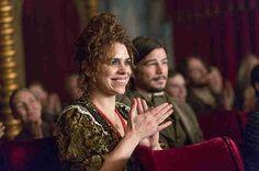 brona (Billie Piper) applauds the best scene in Penny Dreadful