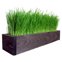 Handmade decorative reclaimed barnwood planter with artificial wheat decorative wheat grass workwithnaturefo